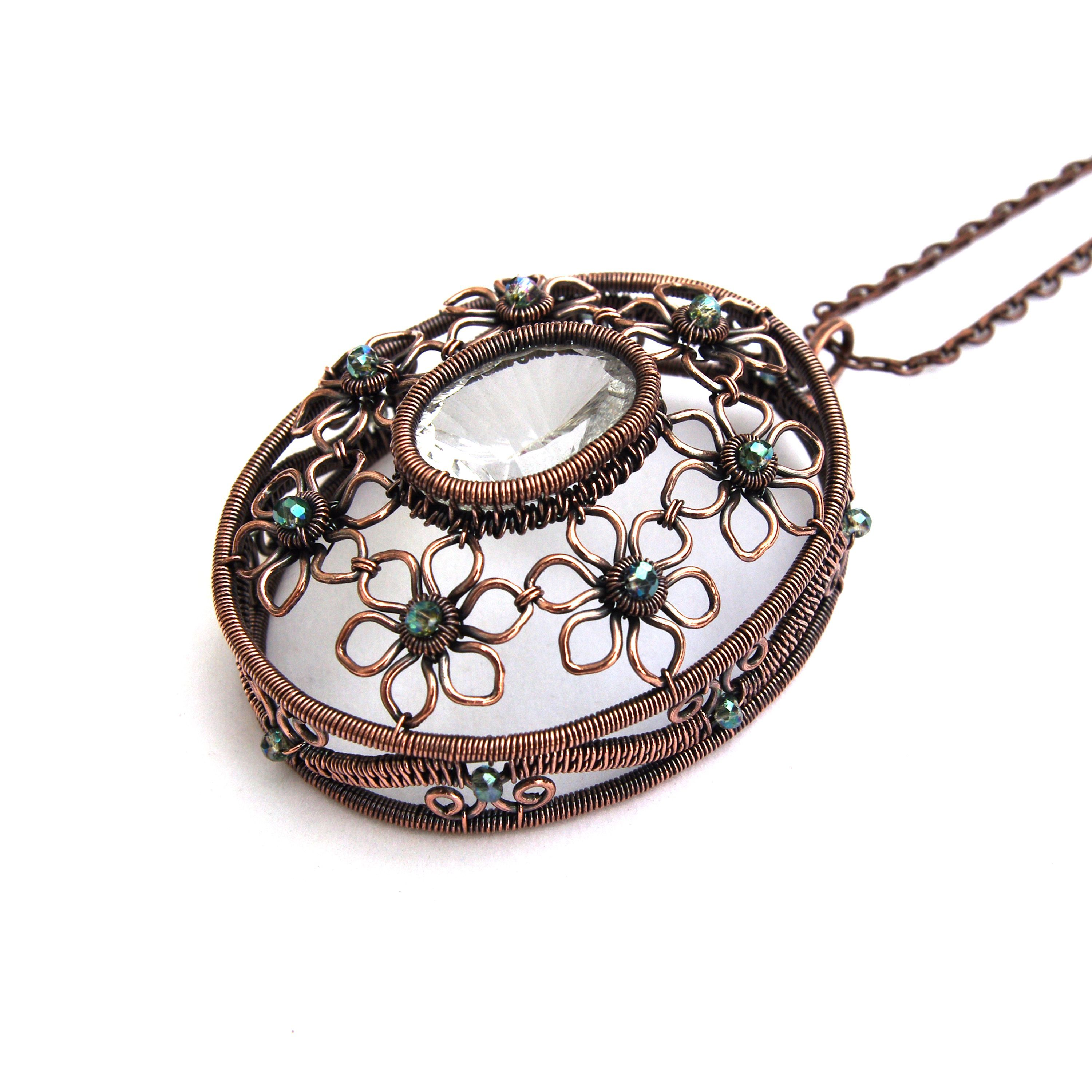 Image result for wire wrapped lockets | Aa Wire Jewelry and ...