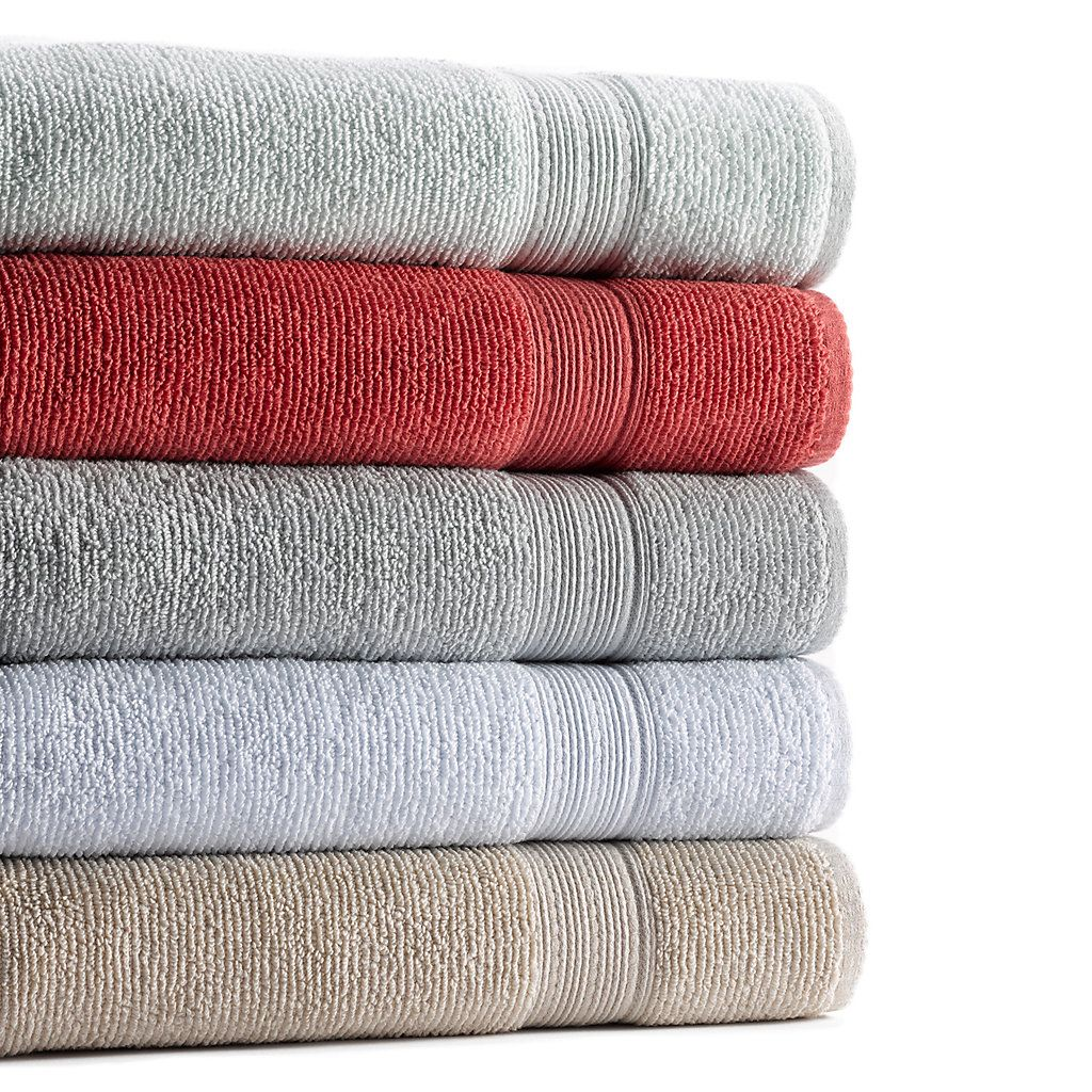 sonoma goods for life™ quickdry textured bath towels  towels  - sonoma goods for life™ quickdry textured bath towels