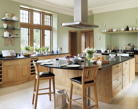 kitchen island with seating at end | visit smallbone co uk ...
