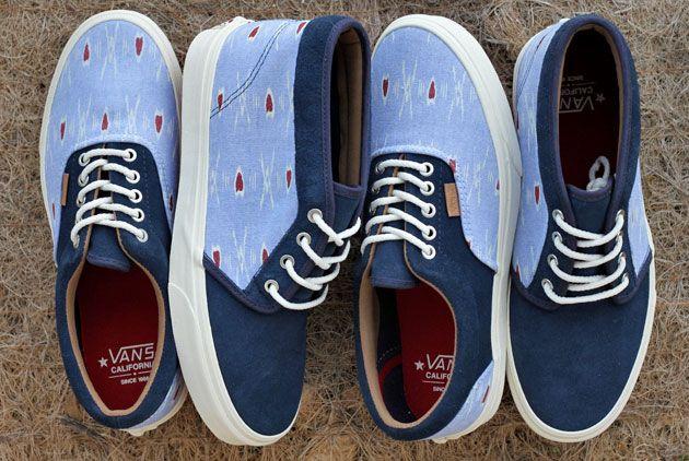 9c6dd3e35689 Vans lance un pack de deux paires de sneakers pour sa collection Holiday Un  imprimé ikat (d origine indienne