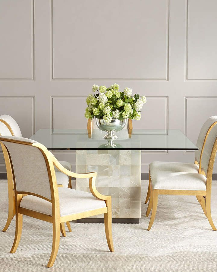 Awesome Bernhardt Palmetto Quartz Dining Table Tablescapes In 2019 Short Links Chair Design For Home Short Linksinfo