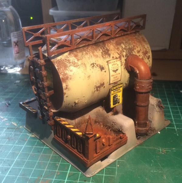 Building a Dome: Fold's Necromunda Terrain   YakTribe.games