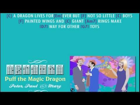 5 Peter Paul Mary Puff The Magic Dragonulele Playalong