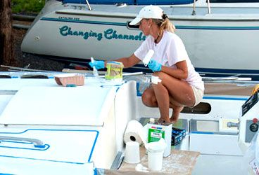 How to Paint Sailboat Decks. Find local schools and teachers on Educator Hub.com & How to Paint Sailboat Decks in 2018 | Sailing | Pinterest | Sailboat ...