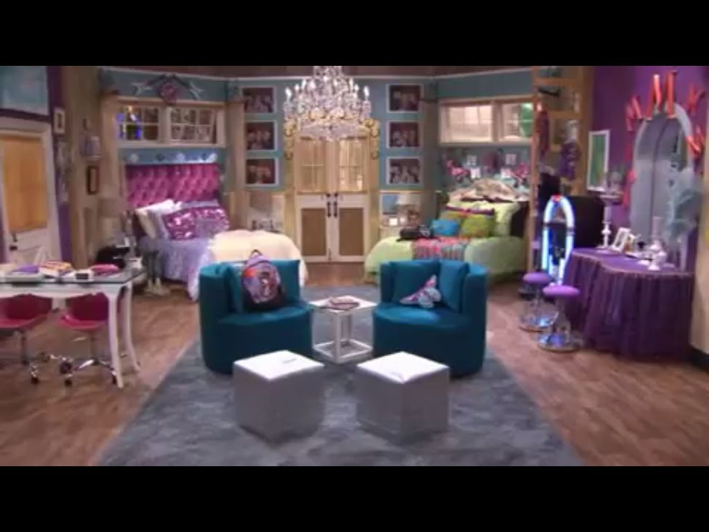 I wish my sister and I had this room from Hannah Montana P S the beds would  be the same type as Miley s and the secret closet would be for both of us. Hannah Montana s room aka our future room  Danielle Arganbright