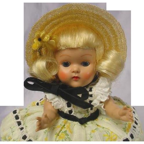 Vogue Ginny Strung Doll 1953 WANDA Fabulous found at www.rubylane.com @rubylanecom