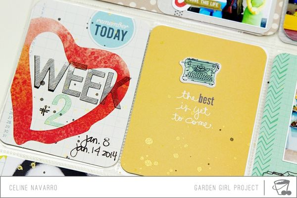 Overlay from Amy Tan on simple date card