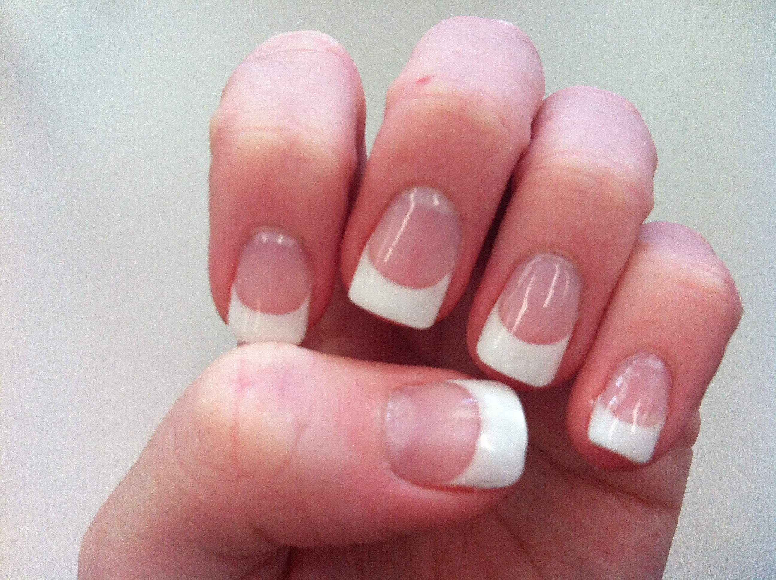 Looking Like A Lady With a French Gel Manicure | nail art ...