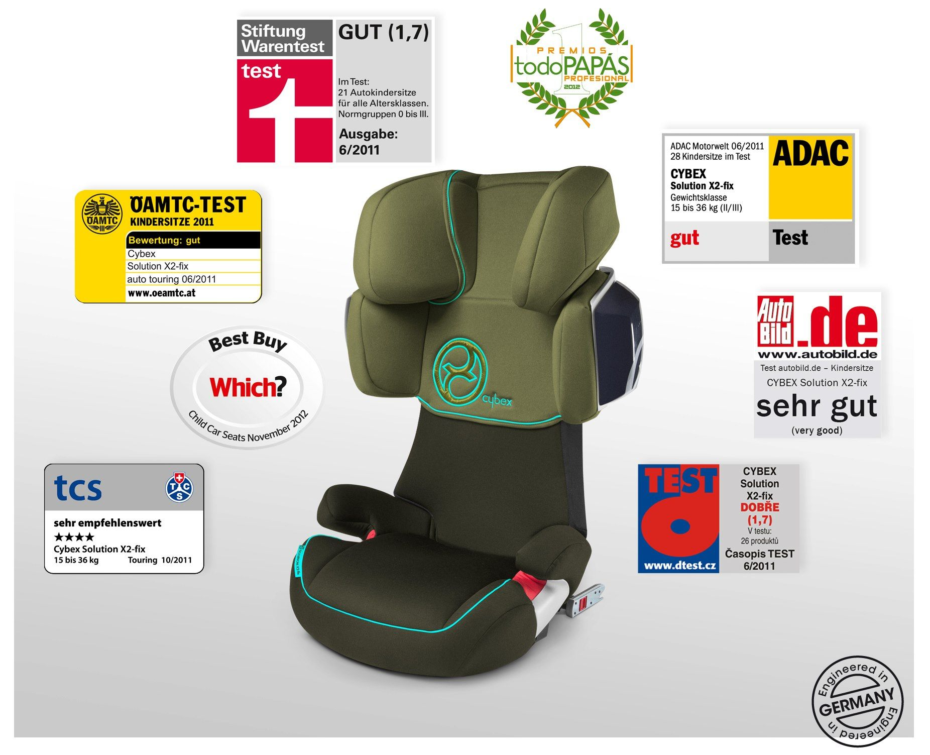 Cybex Solution Z-Fix Child Safety Booster Car Seat Autumn Gold NEW