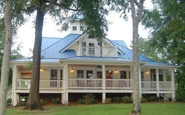 Island Cottage House Plans Cottage Crawlspace Foundation 2058 - Southern Cottage House Plans