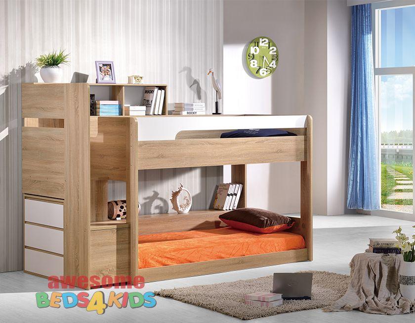 Best Springbrook Low Bunk Bed Single Kids Bunk Beds Bunk 640 x 480