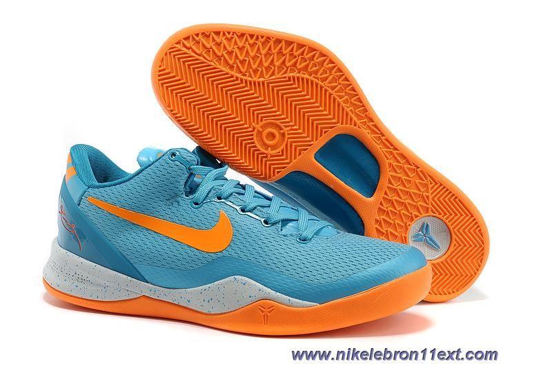 finest selection add9e f2bbb 555586-401 Mens Baltic Blue Neo Turquoise-Windchill-Bright Citrus Nike Kobe  VIII 8 GS Online