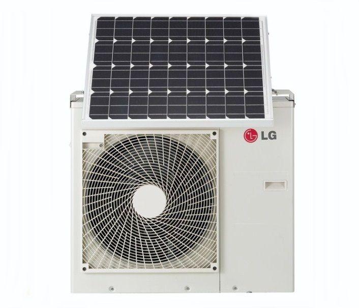 Lg Solar Air Conditioner Solar Air Conditioner Renewable Solar Solar Energy