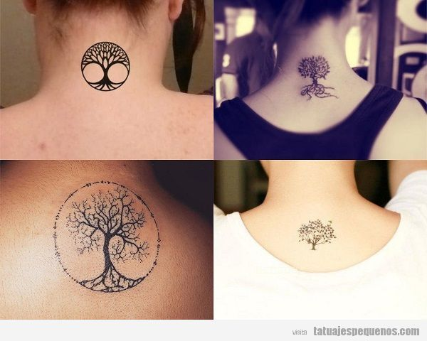 Arbol De La Vida Tatuajes Sencillos
