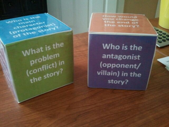 Homemade reading comprehension cubes using dollar store dice do it homemade reading comprehension cubes using dollar store dice do it yourself questions solutioingenieria Choice Image