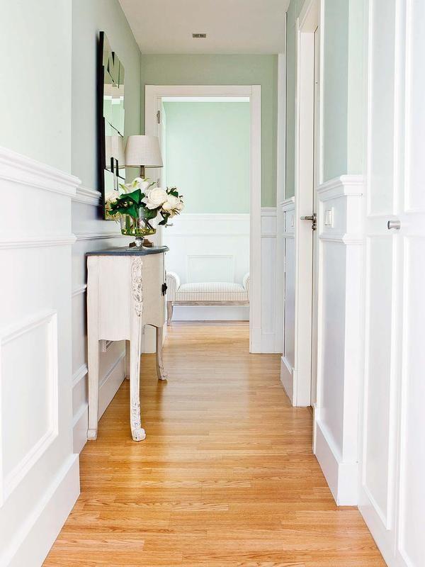 Una entrada triunfal recibidores con estilo pasillo - Recibidores con estilo ...