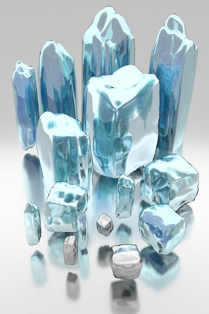 Blend Swap Fantasy Ice Shards Ice Art Ice Painting Ice