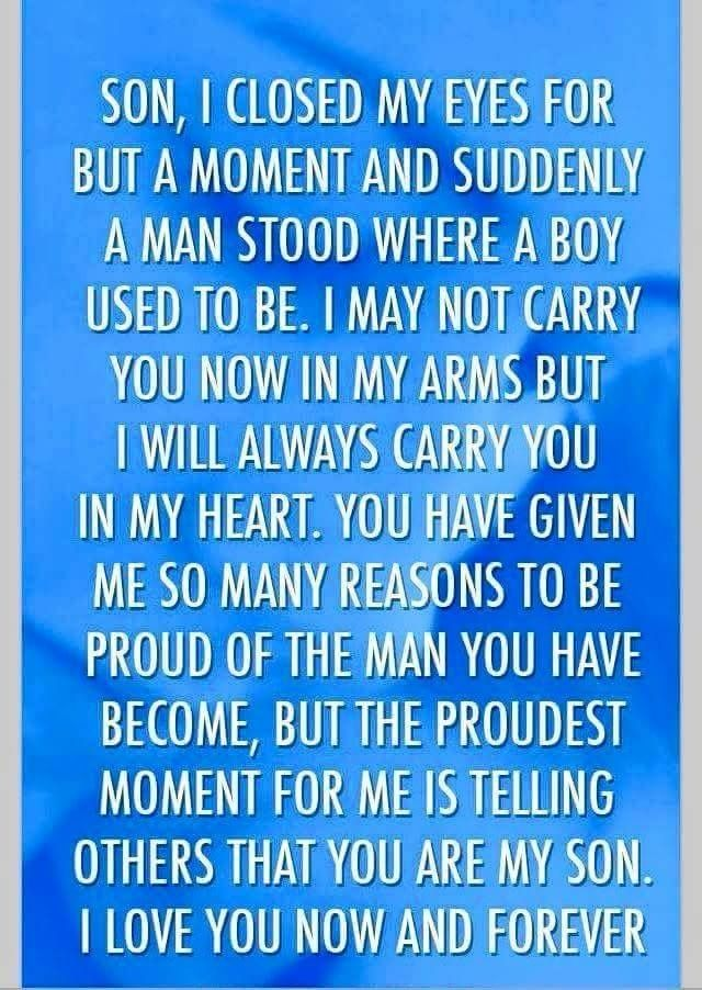 Message From Mother To Son Son Quotes Quotes Sayings