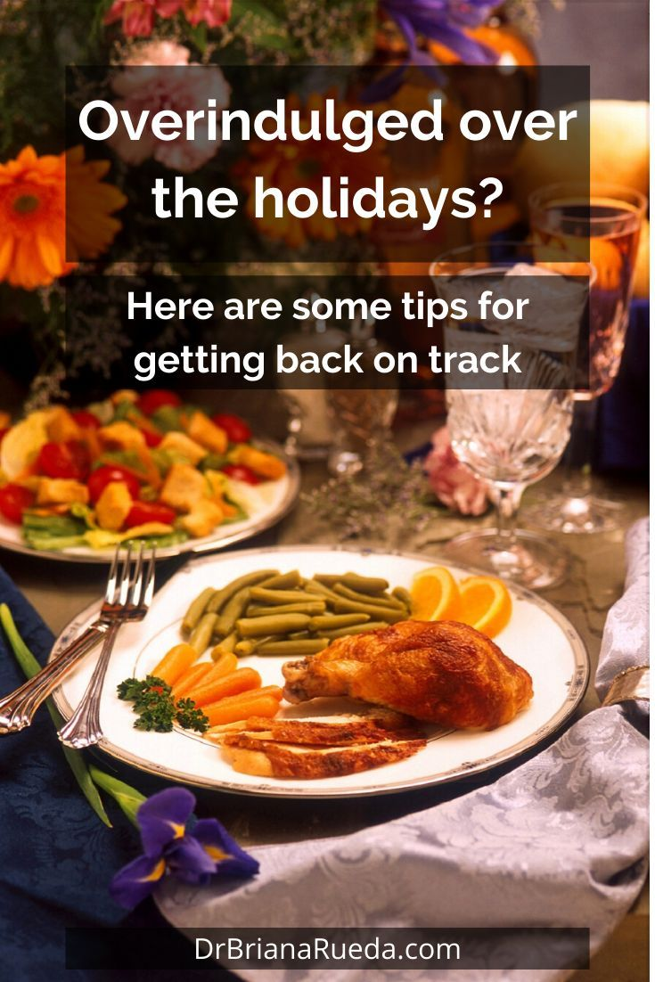 For many, the holiday season is a time where you might eat and drink a little bit more than you norm...