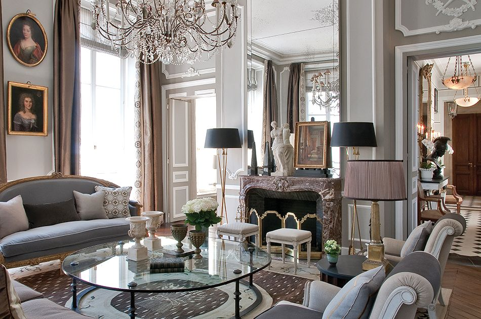 As made manifest in his beautiful new monograph, French decorator Jean-Louis Deniot has an enviable ability to combine periods and styles, mixing inspirations Gallic and otherwise, to create spaces grounded in tradition even as they embrace the modern.