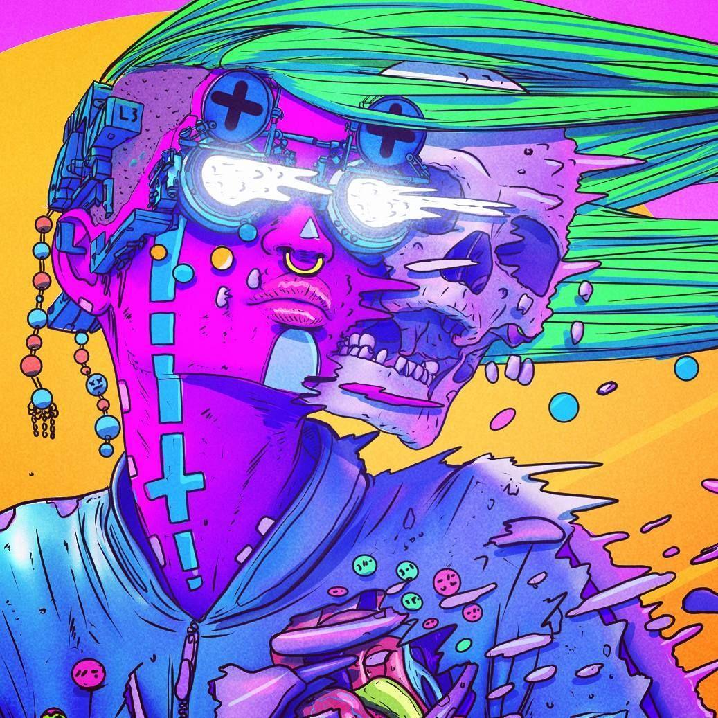 Cyberpunk, por xsullo