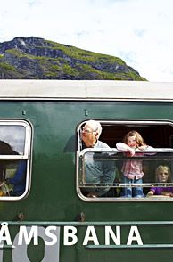 The Flåm Railway in Fjord Norway is a great experience for the whole family - Photo: Morten Rakke