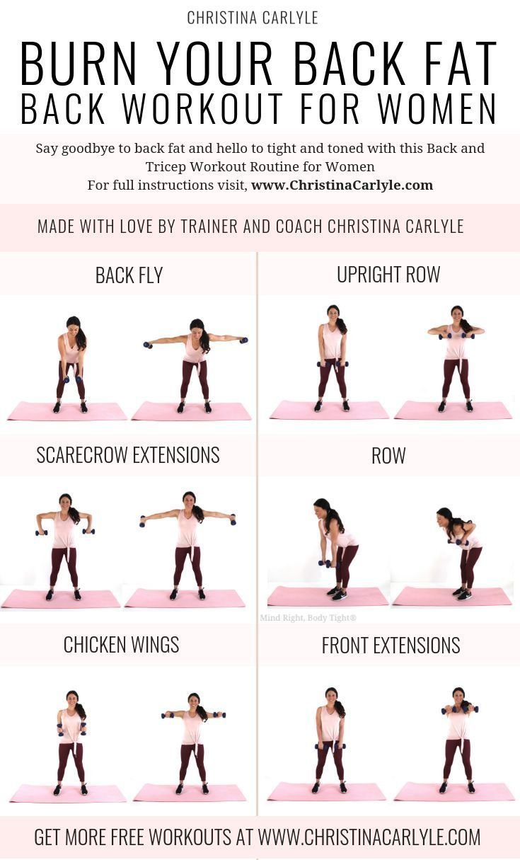 735 x 1215 Tighten and Tone your back with this Quick & Easy Back Workout for Wo…