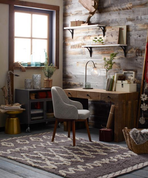 country office decorating ideas. Work In Coziness: 20 Farmhouse Home Office Décor Ideas   DigsDigs Pinterest Office, Spaces And Country Decorating A