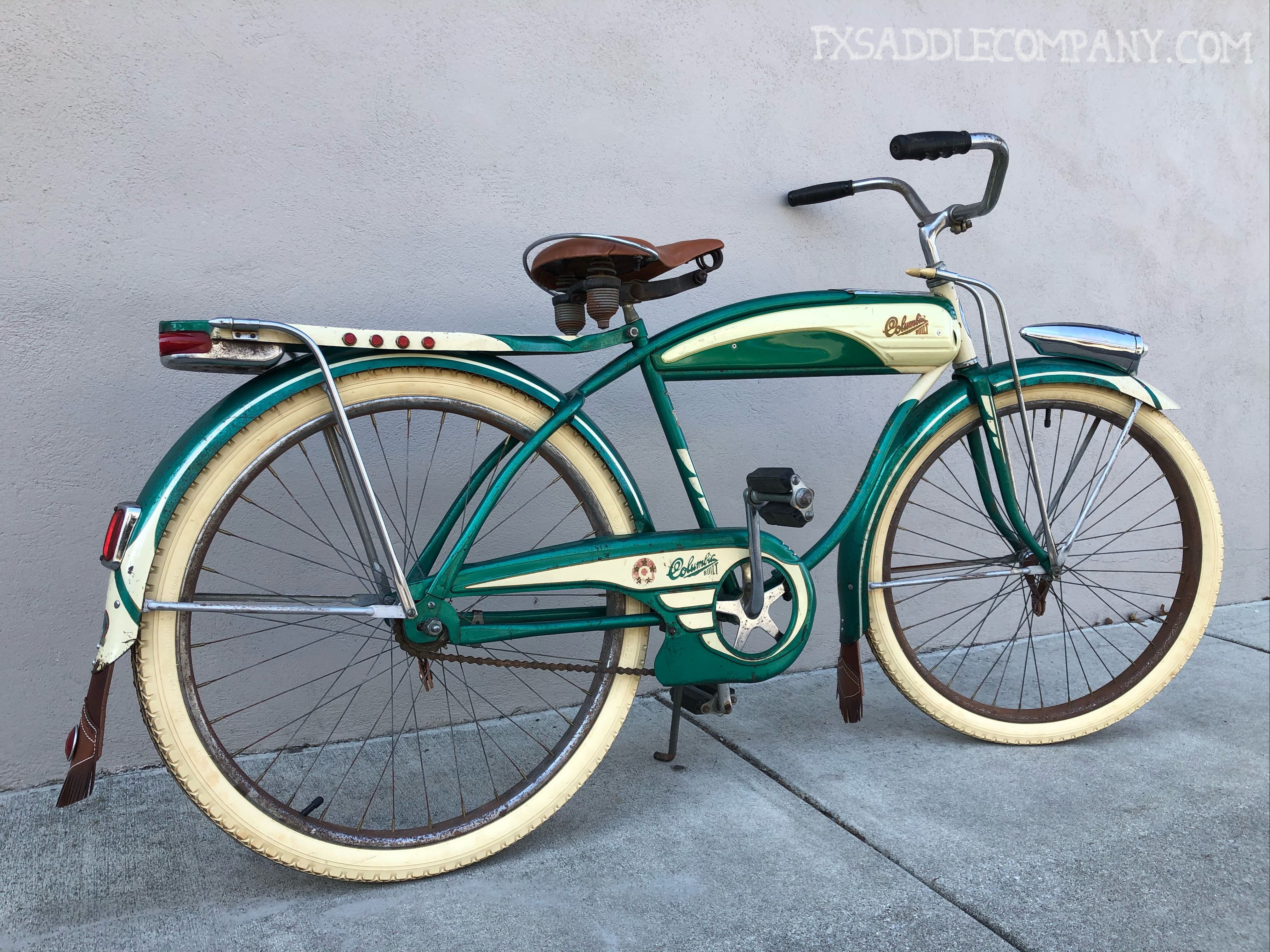 Vintage 1954 Columbia Five Star Bicycle In 2020 Urban Bicycle Design Urban Bicycle Cycling Design