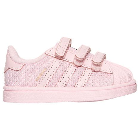 Girls\u0027 Toddler adidas Superstar Casual Shoes - S76620 PNK | Finish Line