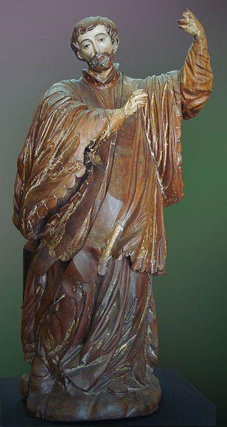 Arte das Missões jesuíticas, de herança espanhola e italiana: São Francisco Xavier, Museu Júlio de Castilhos.