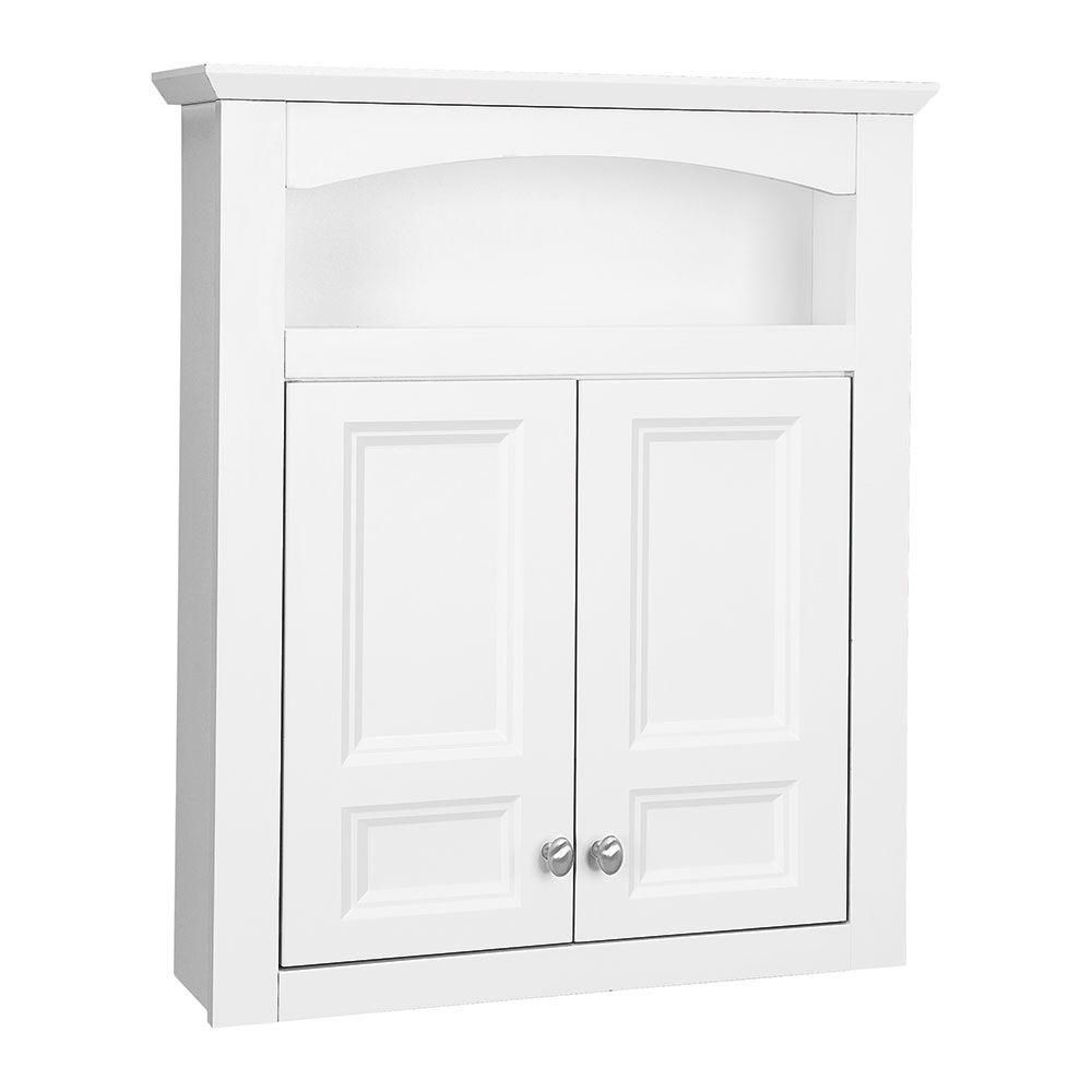 Prefab Kitchen Cabinets Home Depot: Glacier Bay Modular 24-3/5 In. W X 29 In. H X 6-9/10 In. D