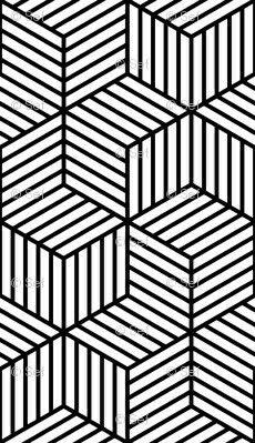 Cubos exagonados