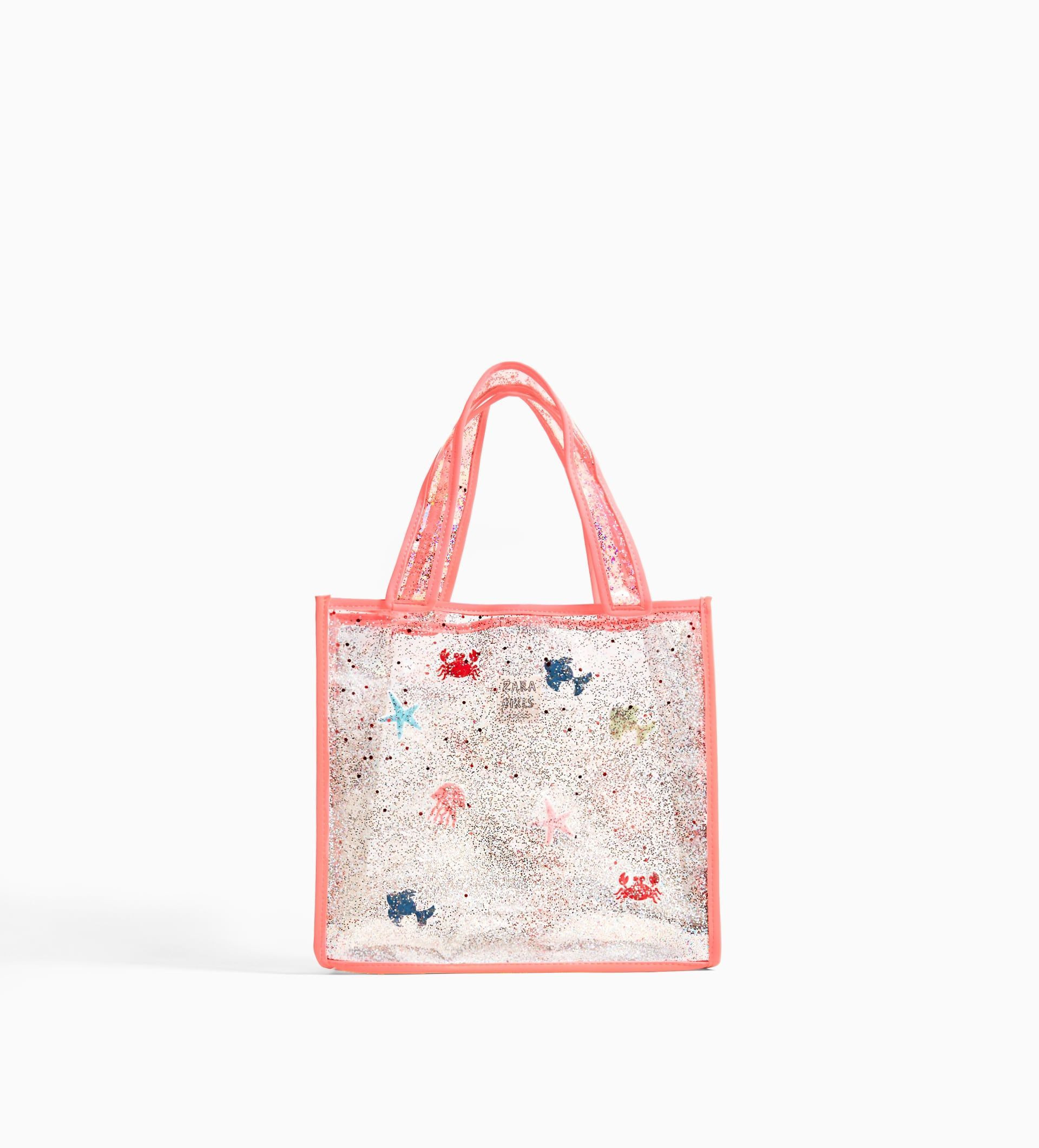 Vinyl Tote Bag From Zara Soft Leather Bag Girls Bags Kids Bags