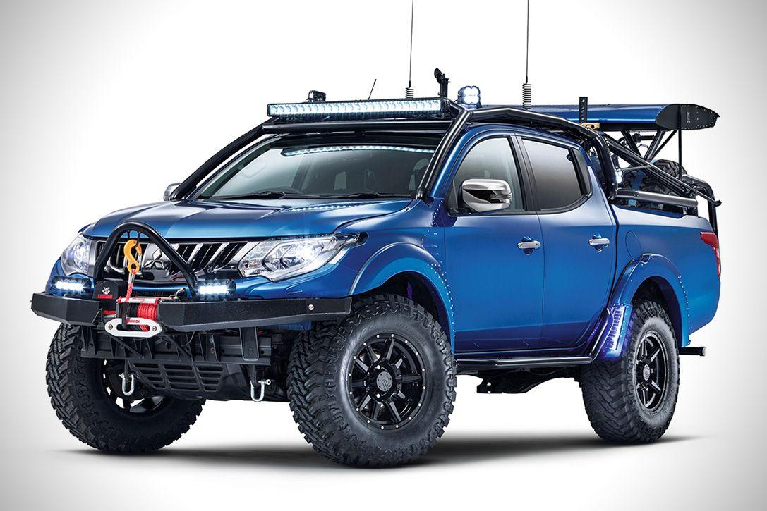 Mitsubishi L200 Desert Warrior Hiconsumption Mitsubishi Truck Mitsubishi Strada Mitsubishi Pickup