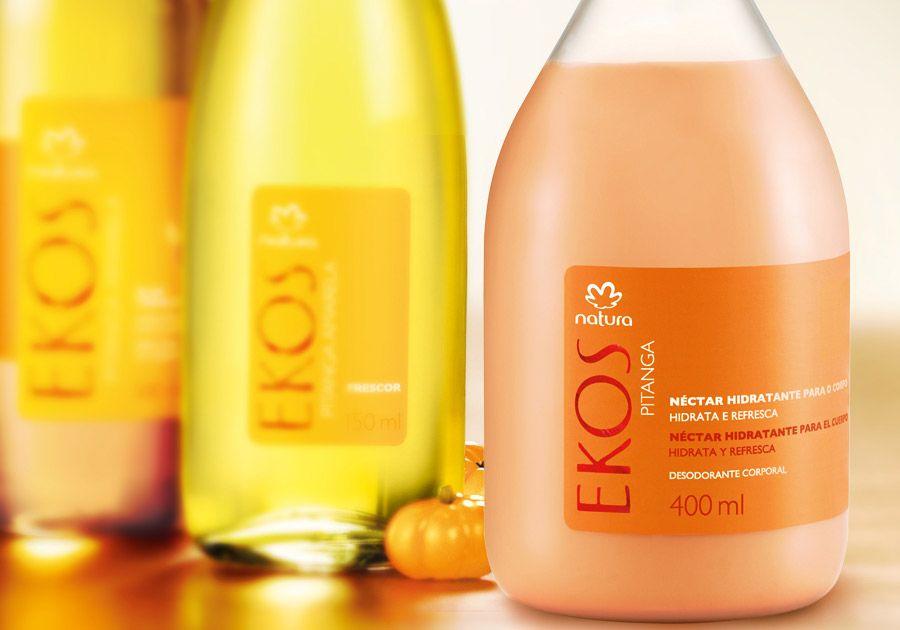 Nectar Hidratante Desodorante Corporal Pitanga Ekos 400ml