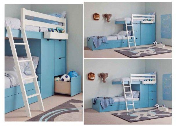 Dormitorio infantil de estilo colonial habitaci g i c - Dormitorio estilo colonial ...