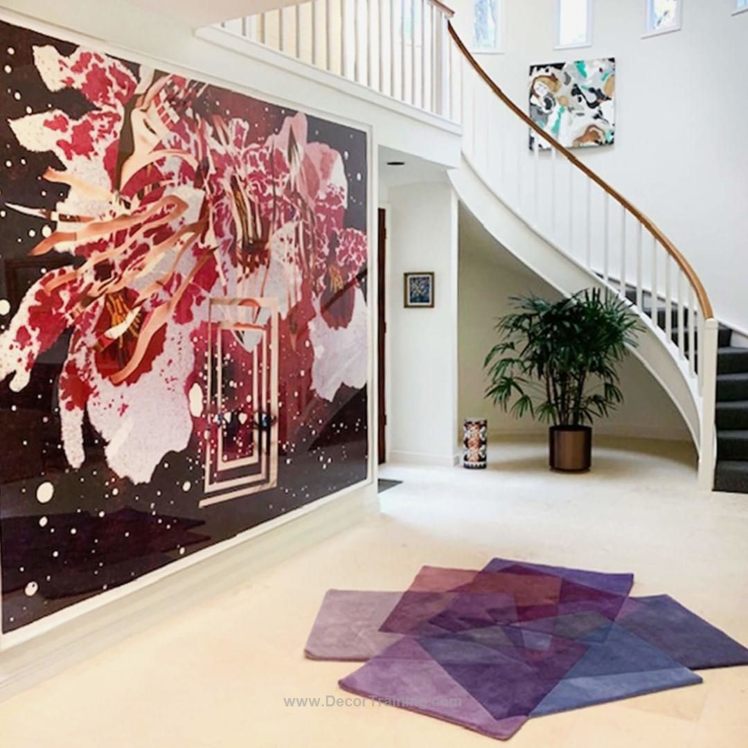 Living room ideas of the day! 22 Pics | Purple rug, Modern ...