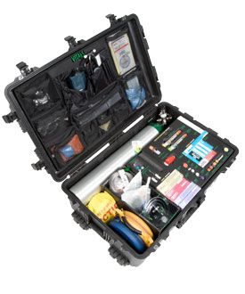 Stat Kit 1000HD Emergency Medical Kit - Open