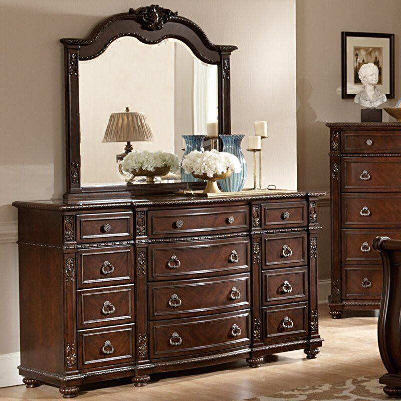 Best Hillcrest Manor 12 Drawer Dresser In 2020 Marble Top 640 x 480