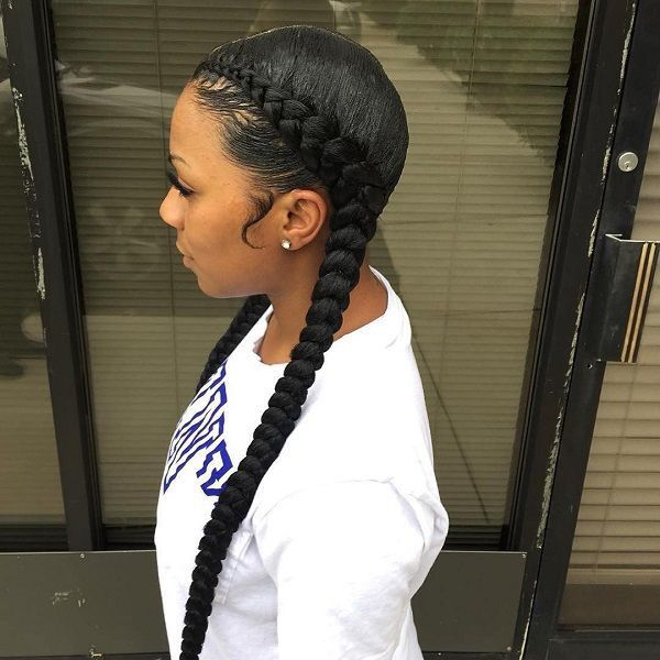 Love These Extra Long Feed In Cornrows By Iamorhair Summer Ready Dmvstylist Dmvbraider Braids Feedinbraids Voiceofhair