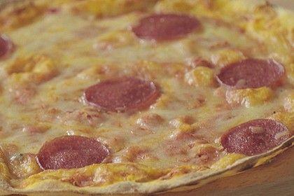 Pizzateig mit Quark ohne Öl und ohne Hefe von easyfitdelicious   Chefkoch