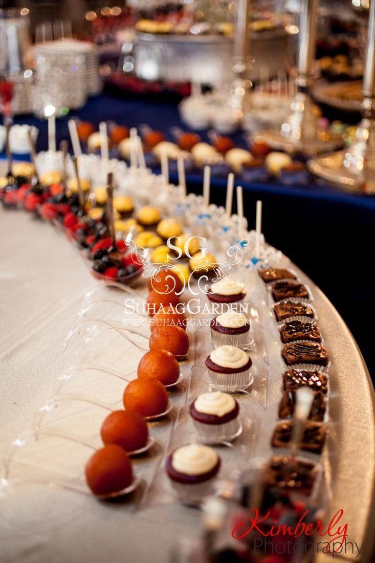 Dessert Lounge Presentation Event Decor Design Florida Wedding Decorator Indian Suhaag Garden Valima