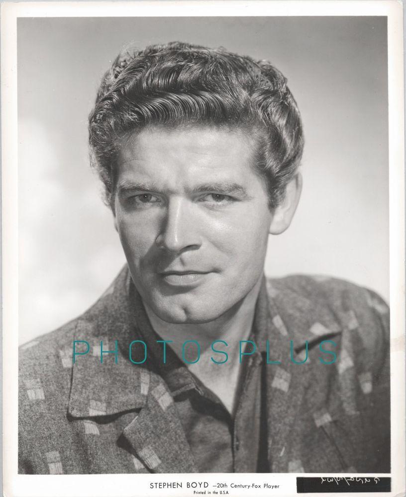 Stephen Boyd. circa 1957. publicity portrait for20th Century-Fox Studio. |  eBay!