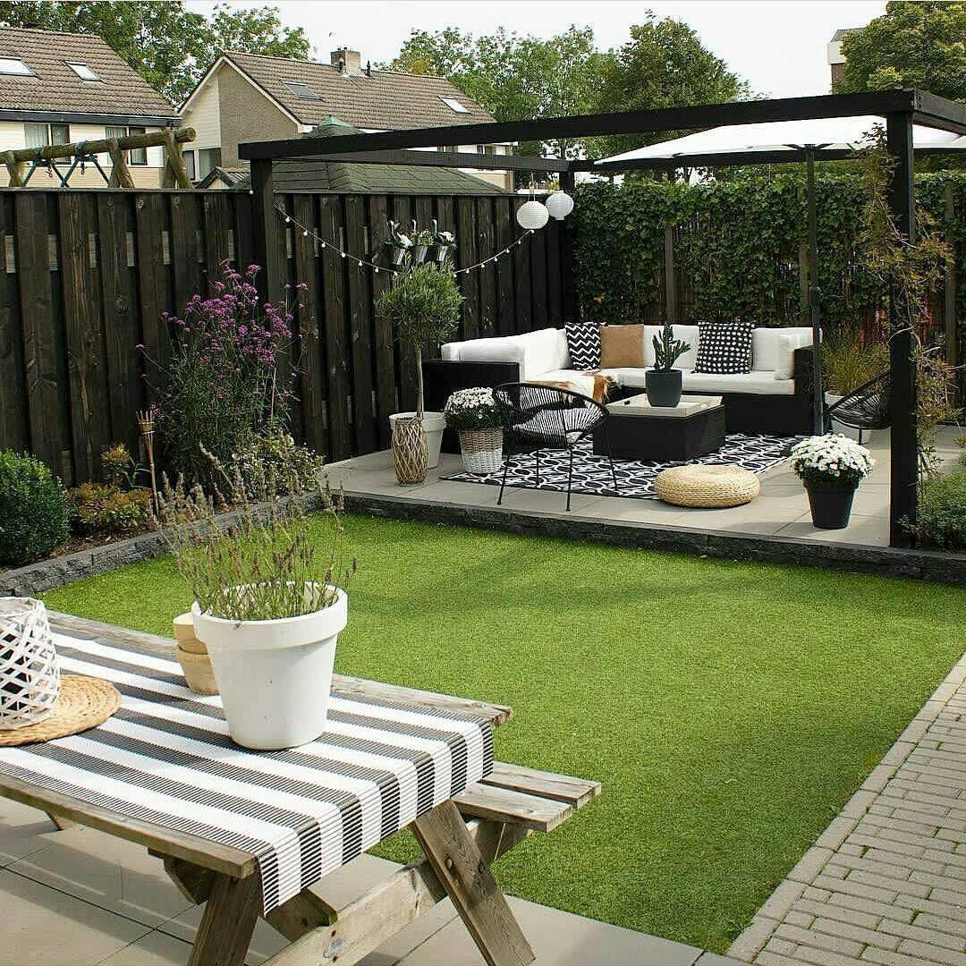 30 Small Backyard Landscaping Ideas On A Budget Beautiful Layout Terrace Garden Design Small Backyard Landscaping Small Garden Design