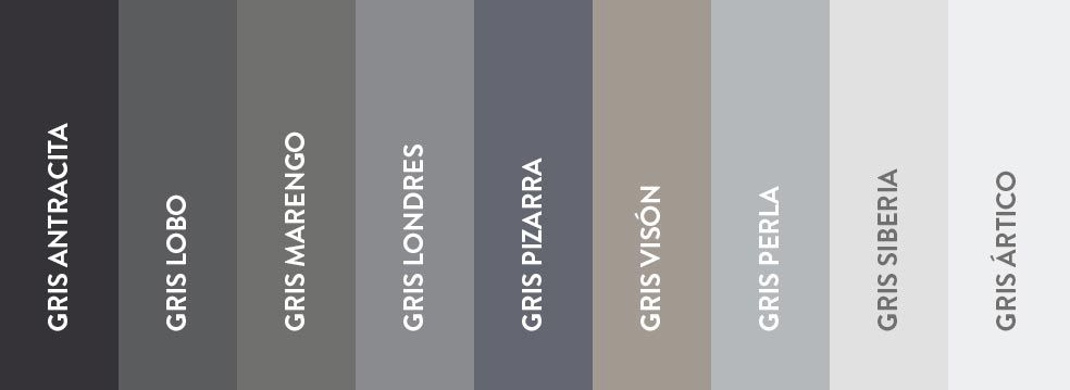 Oda al gris ventas en westwing colores colour - Pintura color gris ...
