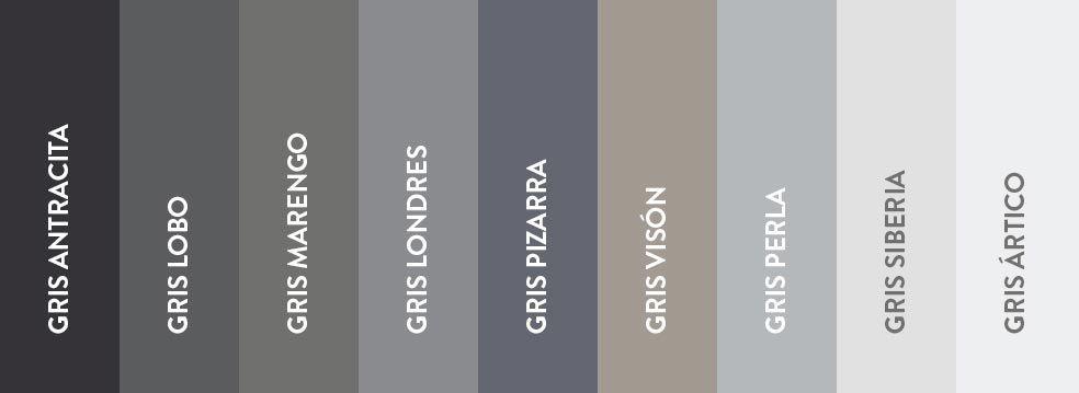 Oda al gris ventas en westwing colores colour for Color perla pintura