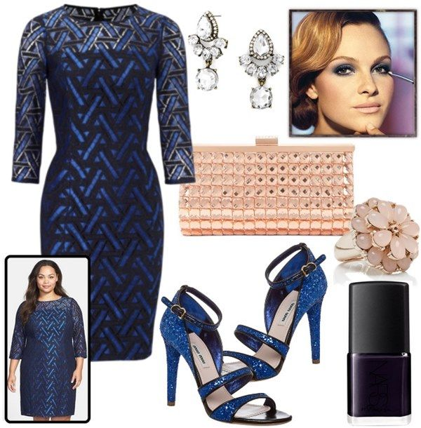 Fall Winter Plus Size Wedding Guest Outfit Ideas