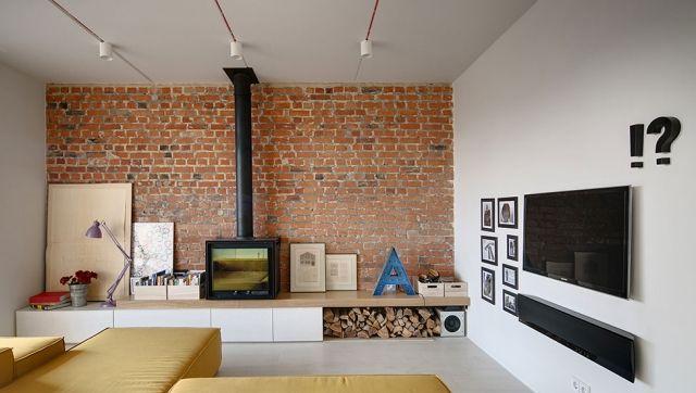 Wohnungseinrichtung im industriellen Stil von 2B Group #group ...
