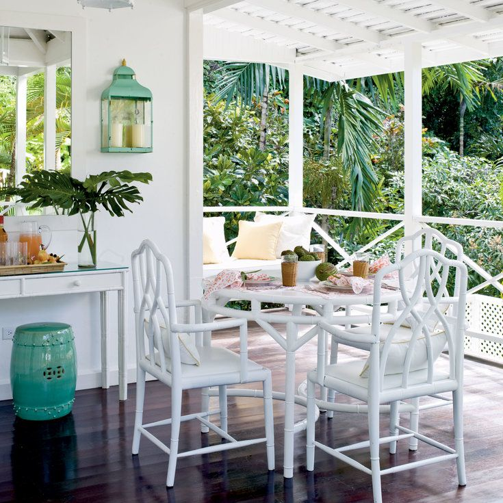 20 Tropical Dining Room Ideas For 2018: 20 Outstanding Outdoor Dining Rooms
